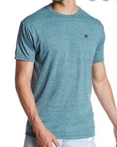 Hurley x scoop neck t shirt